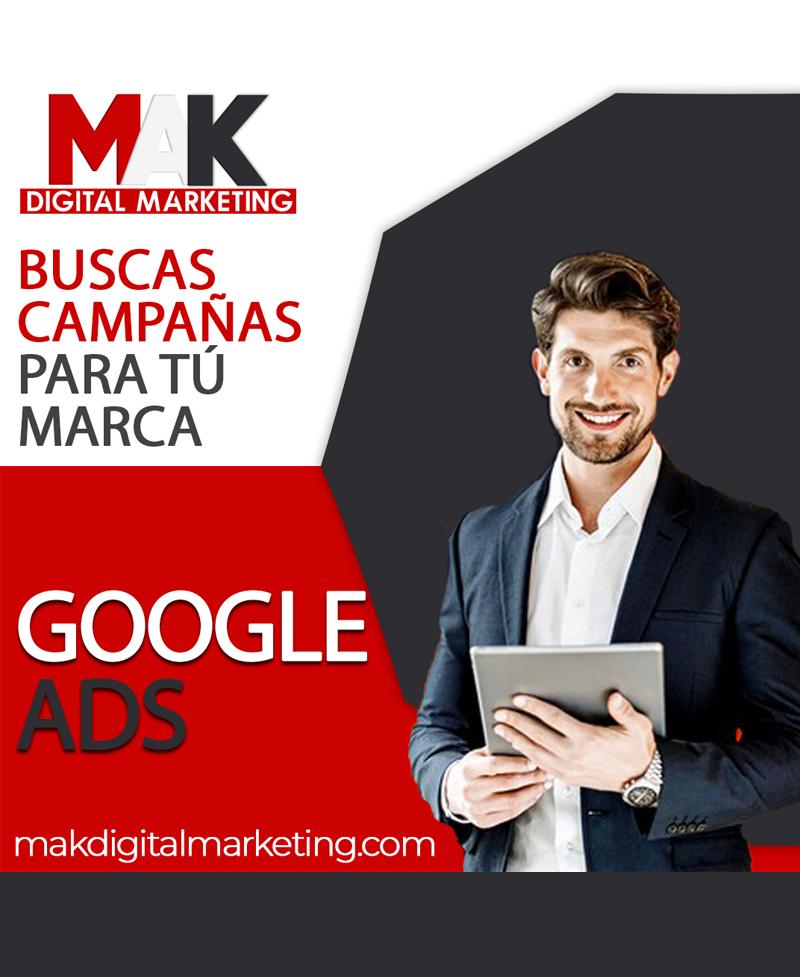 PAQUETE BÁSICO GOOGLE ADS